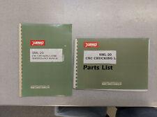 Yang Sml 20 Cnc Chucking Lathe Maintenance Manual And Parts List