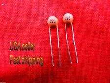 25 pcs 3.3uf   50V  non polarized  ceramic  capacitors