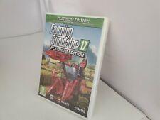 NEW FARMING SIMULATOR 17 PLATINUM EDITION FOR PC DVD ROM FOR WINDOWS 7/8/10  C12