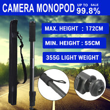 Extendable MONOPOD Tripod Unipod Holder for Travel Digital Camera DSLR Video AU