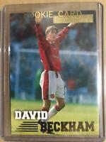 Merlin's Premier Gold 1997 David Beckham ROOKIE RC Card