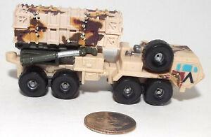 Small Micro Machine Plastic Patriot Missile System in Chocolate Chip Desert Camo