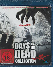 Days of the The Dead Collection - 4 Filme Box - UNCUT - BluRay - *NEU*