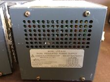 LAMBDA LCD-4-22 DUAL REGULATED POWER SUPPLY RARE USED $99