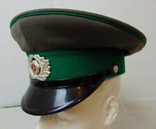East German Border Guard Visor Officer Dress Cap Crusher Hat Size  56 1856 N
