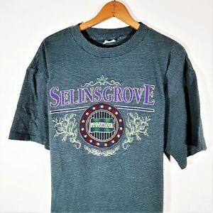 Vintage Pennsylvania T Shirt 80s 90s Surf Grunge Single Stitch Miller USA Sz XL