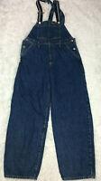 Levis Overalls S Denim Womens Baggy Fit Sample Piece Bib Jeans Blue