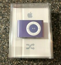 Apple iPod shuffle 2nd Generation Clip On A1204 PURPLE (1 GB) New Factory Sealed