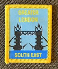 World Scout Jamboree Greater London Unit Patch