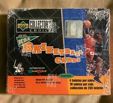 Upper Deck Basketball NBA Mini Box 1996-97 Spain Possible Mint Jordan Seal Box