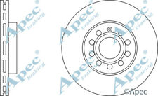 FRONT BRAKE DISCS (PAIR) FOR VW CADDY GENUINE APEC DSK2207