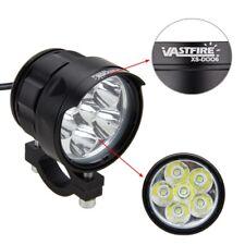 60W 6x XM-L T6 LED Motorcycle Spot Driving Headlight Fog Headlamp Lights