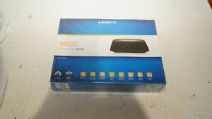 Linksys E2500 N600 Dual-Band WiFi Router *Sealed*