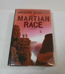 The Martian Race by Gregory Benford, SIGNED, 1st / 1st, HC / DJ, 1999