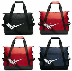 Nike Academy Team Mens Gym Sports Football Duffel Kit Bag Holdall Travel Holiday