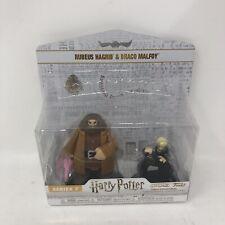 Funko HeroWorld Rubeus Hagrid & Draco Malfoy Harry Potter S7 Vinyl Collectibles