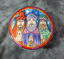 Mikasa Christmas 3 Wise Men 5 inch Covered Dish