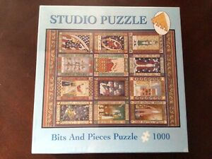 Brand New Sealed 2003 Bits and Pieces 12 Days of Christmas 1000 Piece Puzzle