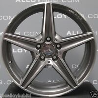 "GENUINE MERCEDES-BENZ C-CLASS W205 AMG 18""INCH 5 SPOKE SINGLE FRONT ALLOY WHEEL"