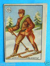 figurines cromos cards figurine v.a.v. vav 69 la guerra nostra finlandia finland