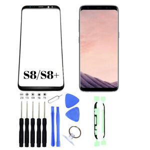 Front Glass Screen Replacement Lens For Samsung Galaxy S8/S8 Plus with Tools Kit