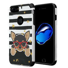 Dual Layer Armor Case for iPhone 7 Plus / 6s Plus / 6 Plus - Chihuahua