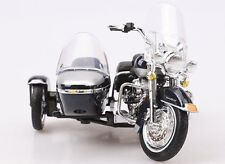 Maisto 1:18 Harley Davidson 2001 Flhrc Road King Sidecar Motorcycle Model In Box