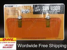 Vw Beetle Bug Vintage Style Clipon Sun Visor Orange Classic Hot Rod Rat Rod