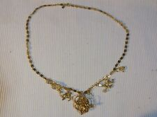KIRKS FOLLY SECRET OF THE SEVEN ANGELS GOLD TONE NECKLACE - EXCELLENT