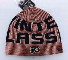 PHILADELPHIA FLYERS NHL Winter Classic Reversible Knit Beanie Hat SKI CAP TOQUE