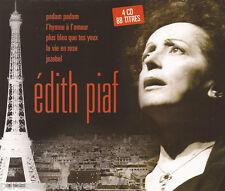 EDITH PIAF - Edith Piaf (French 88 Tk Four CD Album Set)