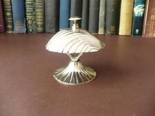 Vintage  Silver Plate Reception Desk  Bell,