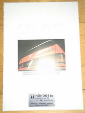 Honda Civic Coupe CRX brochure c1987  Dutch text