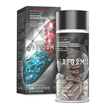 PERFORMIX SUPER MALE T V2X 120 Caps - Performance, Strength, Lean Muscle, Libido