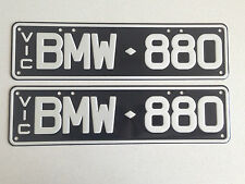 BMW Car and Truck Number Plates