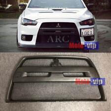 For Mitsubishi Lancer & Sportback EVO Front Bumper Radiator Grille Black