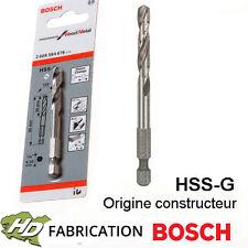 Foret de centrage HSS-G 80 mm Bosch 2608584676