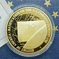 U.S. Constitution 2009 History Of America Medal w/c.o.a.