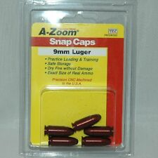 A-Zoom  Pachmayr Snap Caps, 9MM Luger, 5 pack, 15116