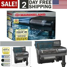 Marineland Penguin 200 Power Filter 30 to 50-Gallon 200 GPH Chemical Biological