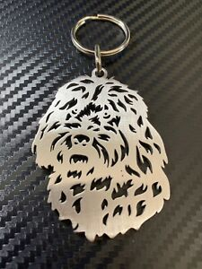 COCKAPOO Dog Breed Keyring Keychain Key Bespoke Stainless Steel Gift