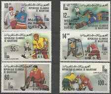 Timbres Sports d'hiver JO Mauritanie 439/44 * lot 8899