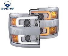 Anzo 111366 Projector Switchback Headlights for Silverado 2500/3500 HD