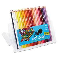 Prismacolor Scholar Colored Pencil Set HB 48 Assorted Colors/Set 92807