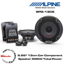 "Alpine SPG-13CS - 5.25"" 13cm 2-Way Car Component Speaker 500 Total Power"