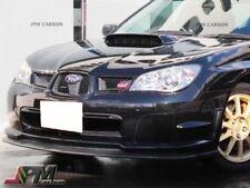 For 2006 2007 SUBARU IMPREZA GDF STI Carbon Fiber Front Bumper Spoiler Lip