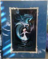New Disney Parks Wonderground Gallery Nokk Frozen Deluxe Print by Brittney Lee