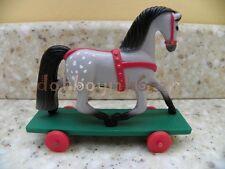 Hallmark Merry Miniatures 1985 Horse Pony Cart Christmas