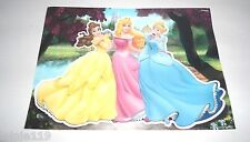 Graffix Disney Princess Removable Puffy Sticker, Laptop Decal, Multi-Use, New
