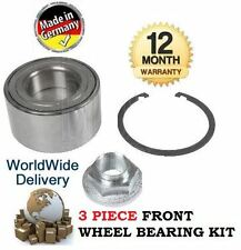 FOR MAZDA 6 2.0 2.3 MPS TURBO 2005-2008 3 PIECE FRONT WHEEL BEARING KIT COMPLETE